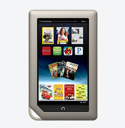 Barnes & Noble Nook tablette