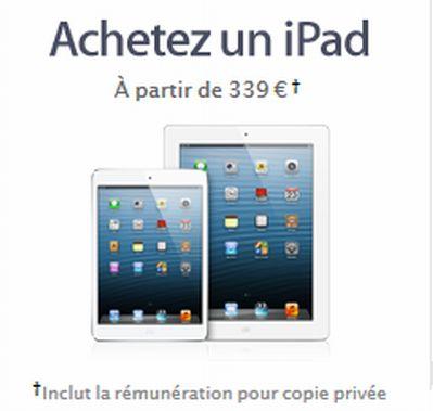 ipad-apple-copie-privee
