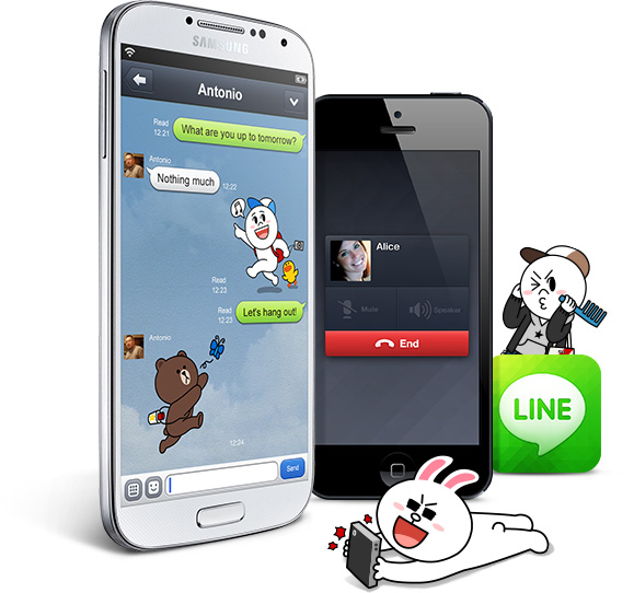 Line-application-messagerie-smartphone-france