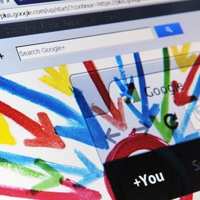 google+ -page-auteur