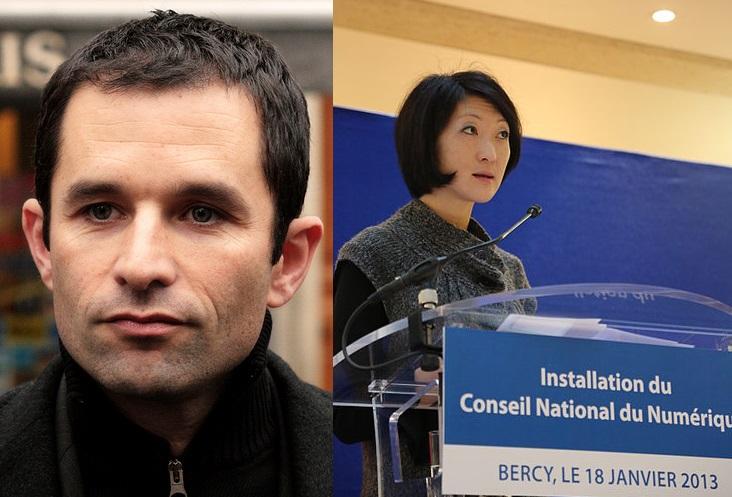 Benoît-Hamon-ministre-consommation-fleur-pellerin-economie-numerique