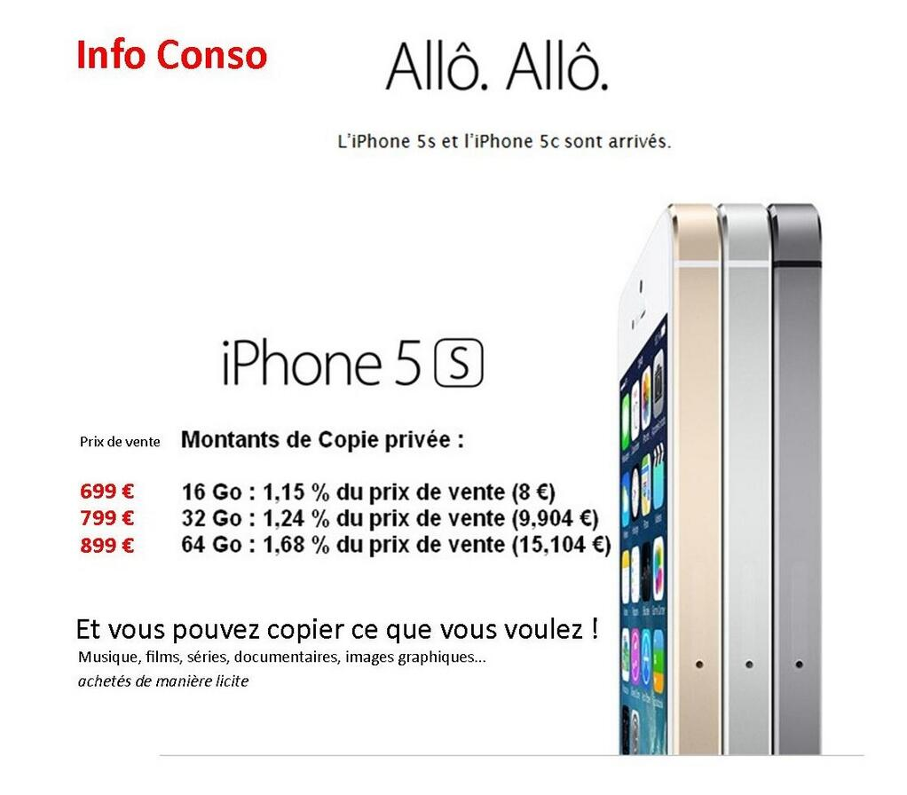 iphone-5s-apple-taxe-copie-privée