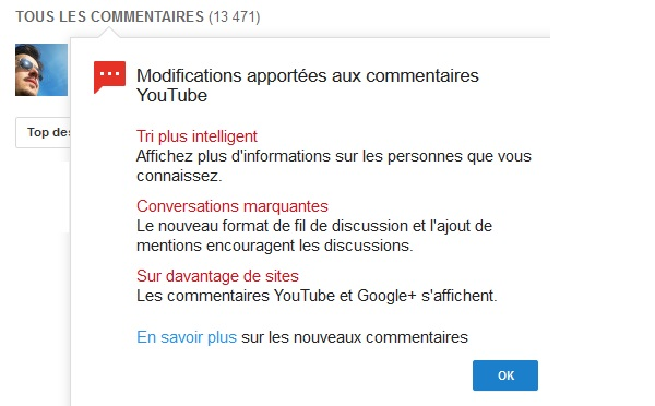youtube-google+-commentaires