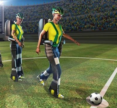 D cal it au carrefour de la robotique et du ballon rond - Coupe du monde 2014 au bresil ...