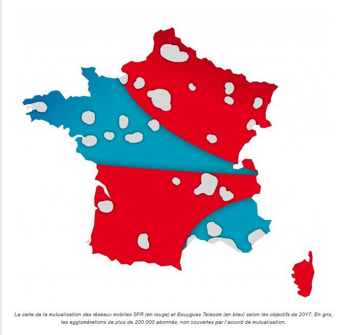 carte-mutualisation-SFR-bouygues-telecom