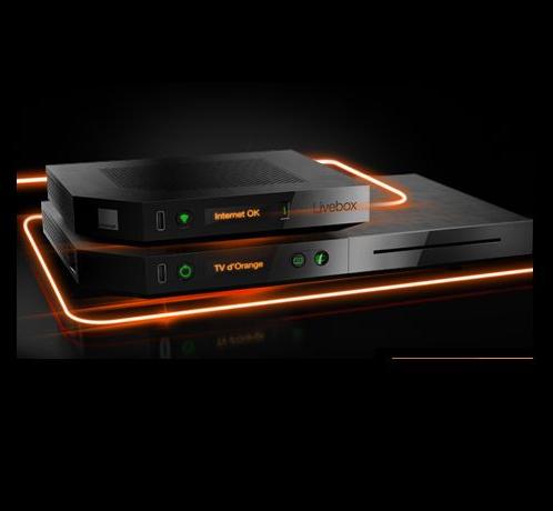orange r vise son offre livebox entre fibre et vdsl2. Black Bedroom Furniture Sets. Home Design Ideas