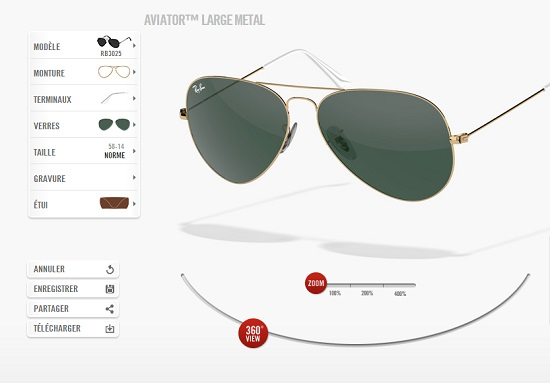 ray-ban-luxottica-personnalisation-lunettes