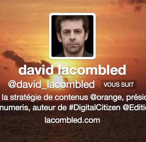 81594aca93131 David Lacombled (Orange) prend les commandes de l IAB