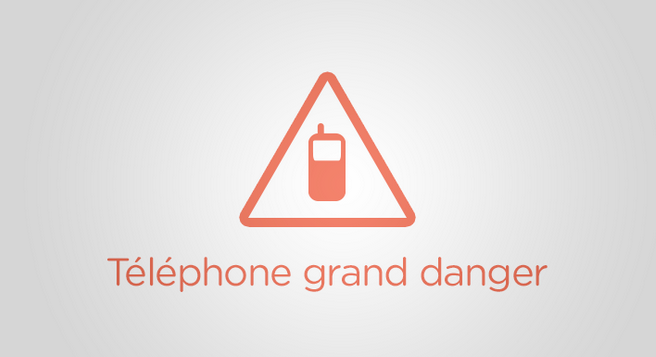 telephone grand danger