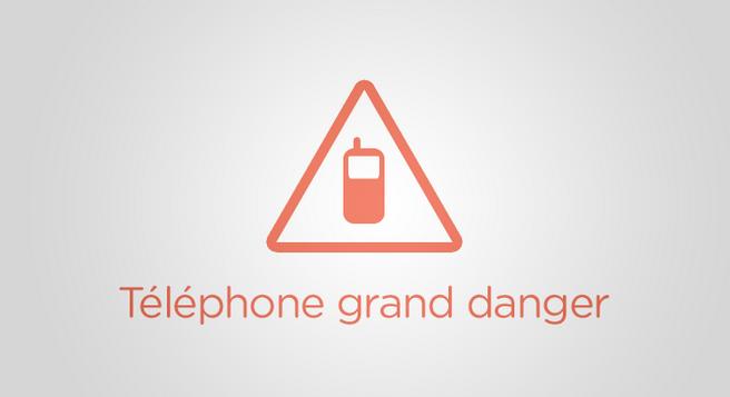 telephone grand danger