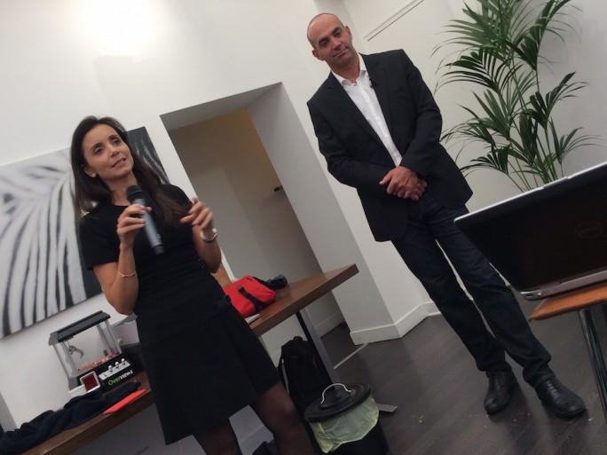 Géraldine et Loïc LeMeur