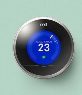 Google Now : une nouvelle voix pour les thermostats connectés Nest