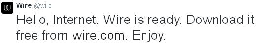 wire-lancement