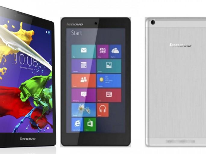 Lenovo tablettes MWC 2015