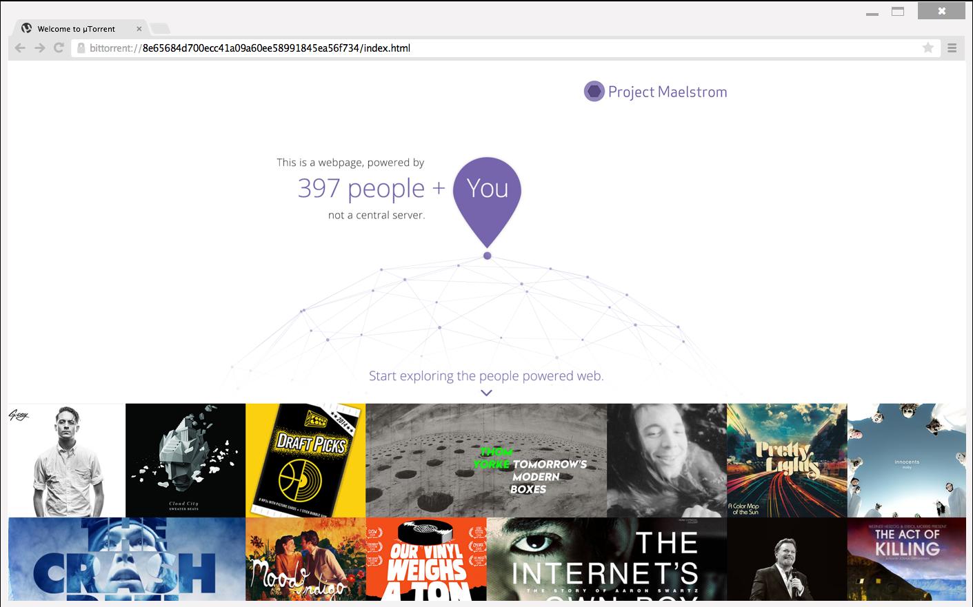 Project_Maelstrom_BitTorrent_Navigateur_Internet