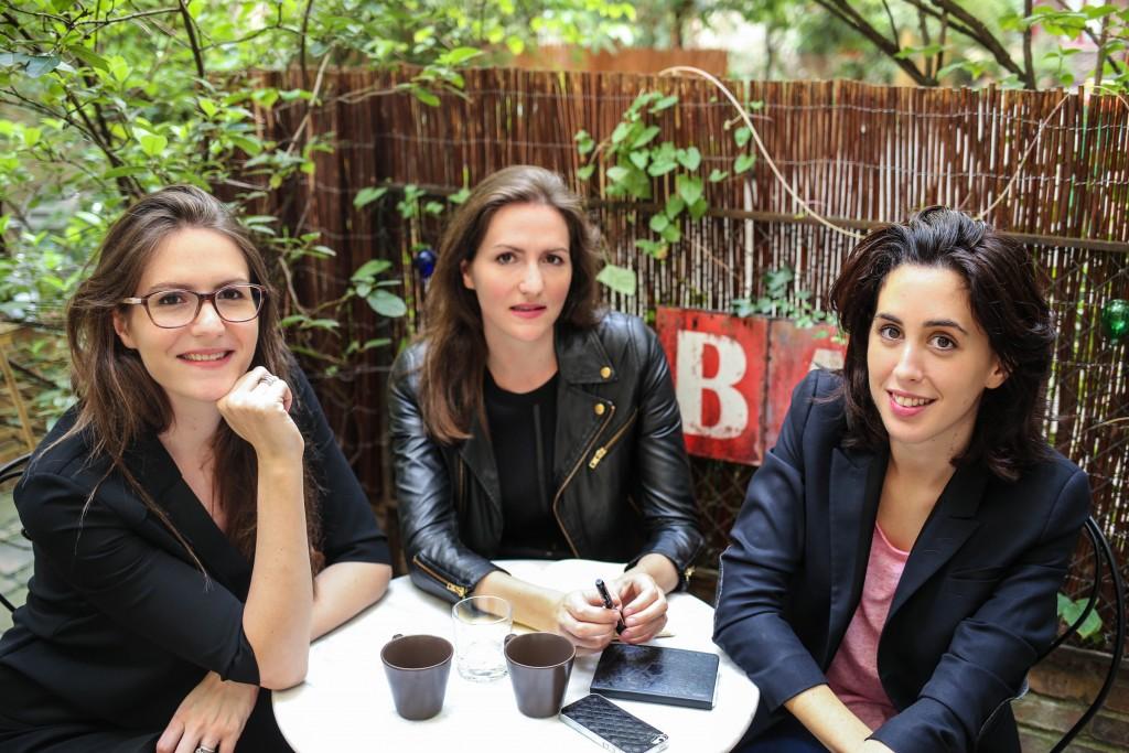 Elise, Raphaelle et Beatrice