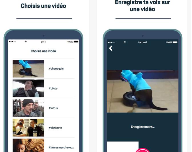 L'app mobile Lipp sous iOS