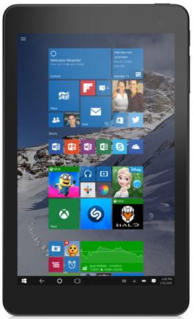 Dell va proposer une version 1920 x 1200 pixels pour sa Venue 8 Pro.
