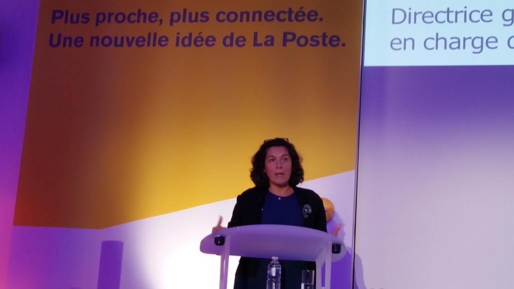 Nathalie Collin, Mme numérique à La Poste