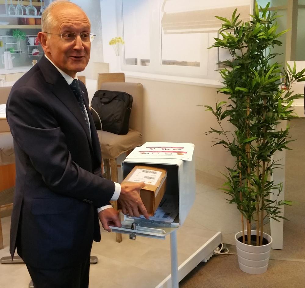 Philippe Wahl, PDG de La Poste