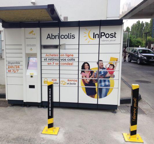 E leclerc ouvre ses portes aux casiers intelligents abricolis - Station total porte d italie ...