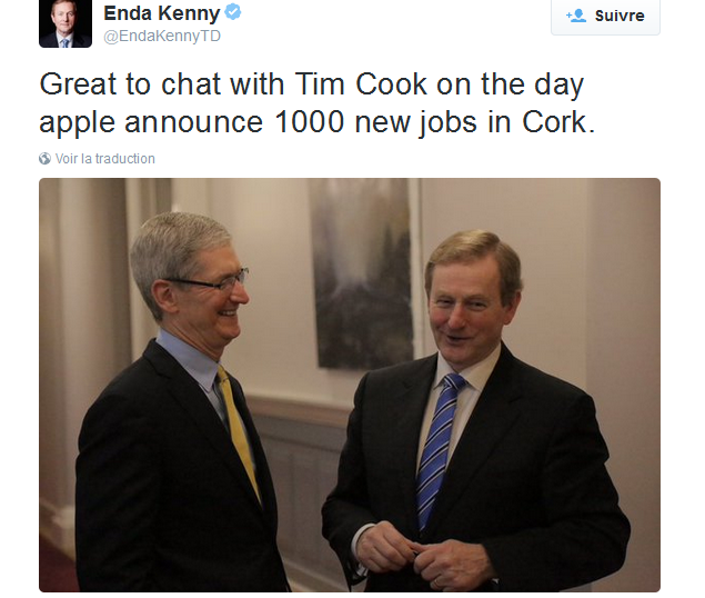 enda kenny-apple
