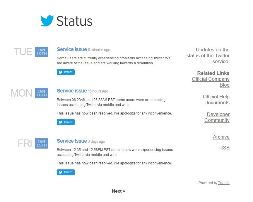 Rencontre twitter