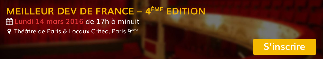 Le Meilleur Dev de France - 4ème édition