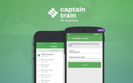 Captrain Train for Business