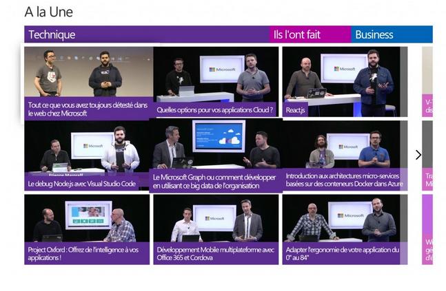 Microsoft Expériences Online