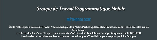 programmatique mobile