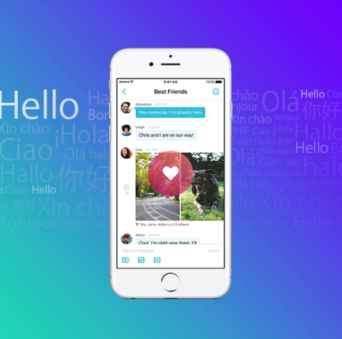 L'app mobile Yahoo Messenger