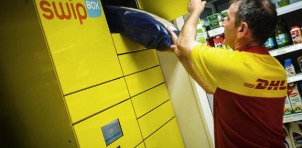 Les consignes SwipBox de DHL