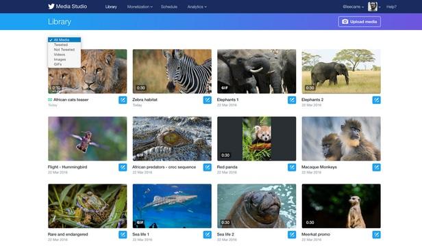 Les nouveaux outils du Twitter Media Studio