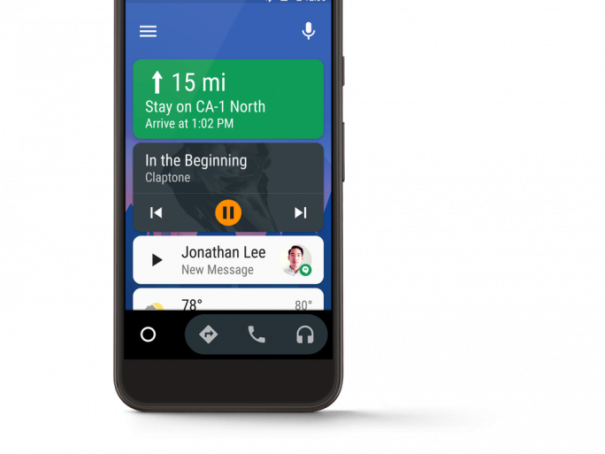 Google annonce l'arrivée d'Android Auto pour toutes les voitures... grâce au smartphone