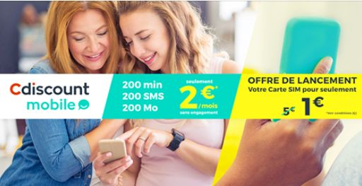 Carte Sim Cdiscount.Telephonie Mobile Cdiscount Secoue Le Segment Du Sans Engagement