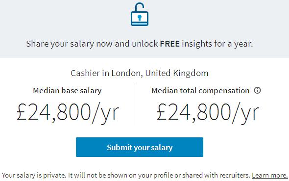 salary-cashier