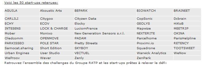 liste-start-up-partenariat-RATP-VIVA-TECHNOLOGY-2016