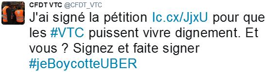 cfdt-boycott-uber