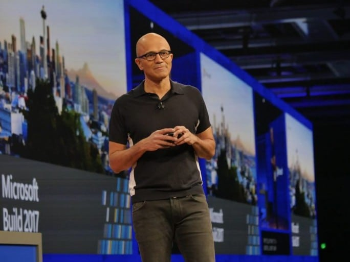 satya-nadella-microsoft-build-2017-intelligence-artificielle