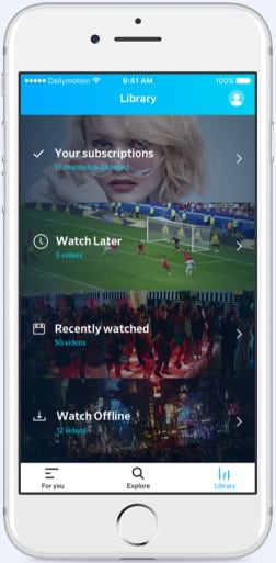 dailymotion-nouvelle-app