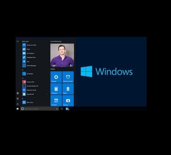 linkedin-windows10
