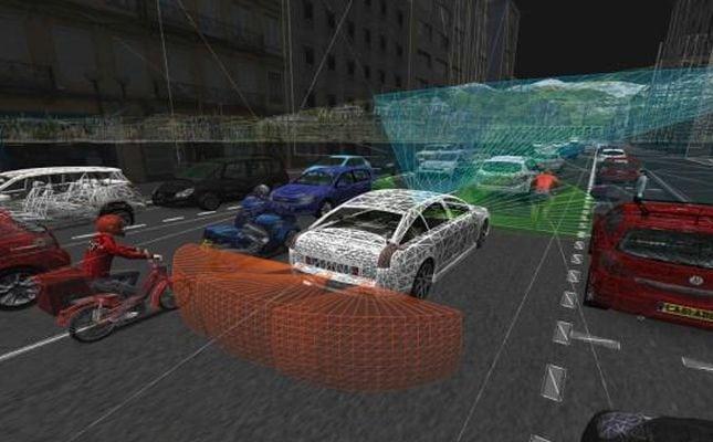 Renault crée une co-entreprise avec Oktal — Véhicule autonome