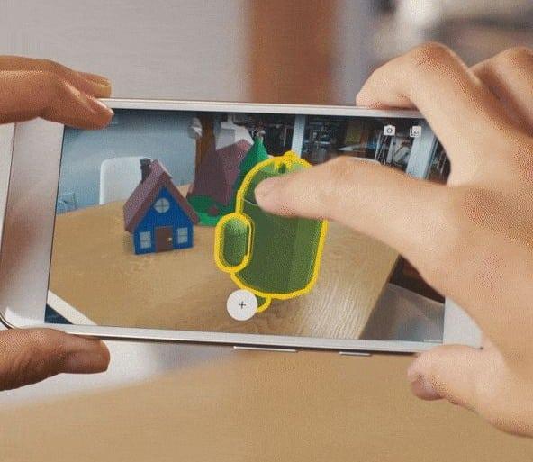 ARCore-google-realite-augmentee
