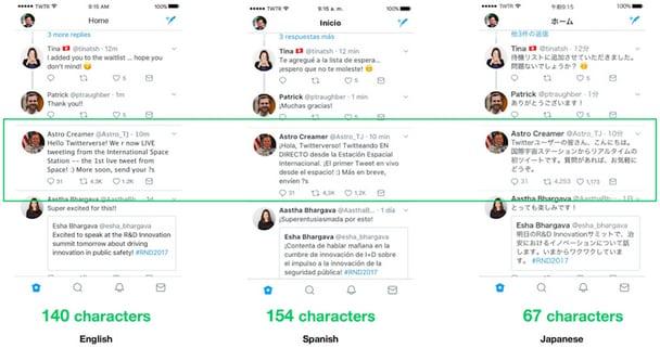 tweets-langues