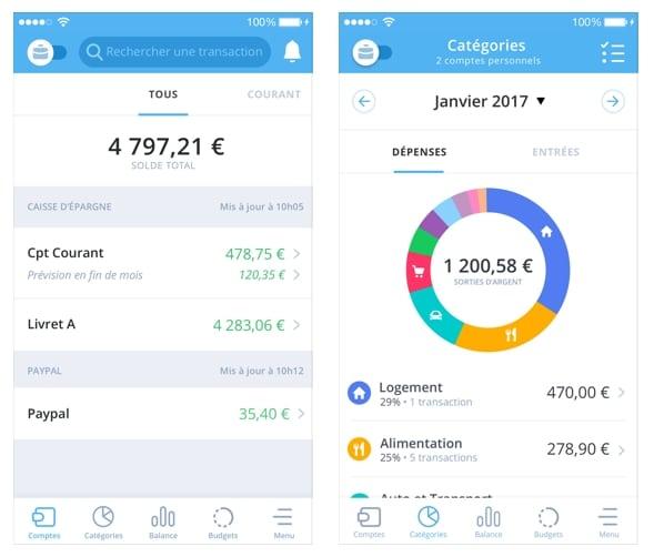 Bankin' - copie -ecran -app