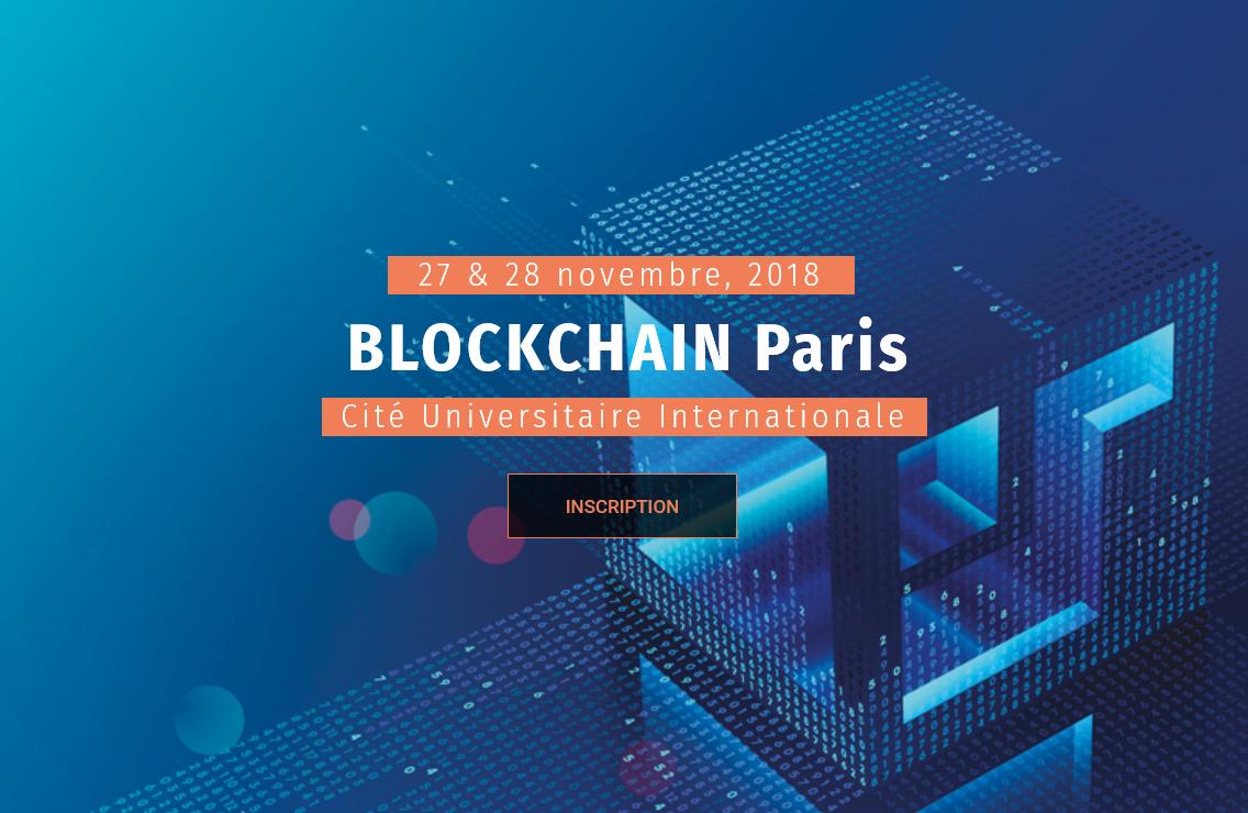 Blockchain Paris 2018