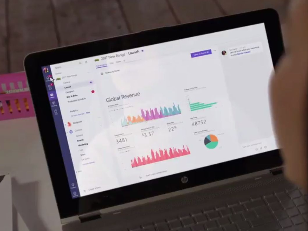 Microsoft pousse Teams par le canal Office 365