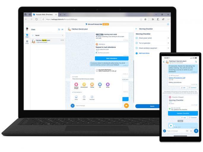 kaizala-web-app