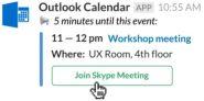 outlook-slack-meetings